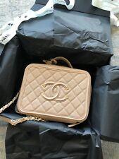 Chanel CC Filgree Vanity Case