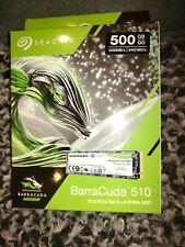 Seagate Barracuda 510 500gb SSD hard drive Zp500cm3a001