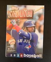 2020 Topps Stadium Club Blaster Box! Sealed! 40 Total Cards 8 Packs!