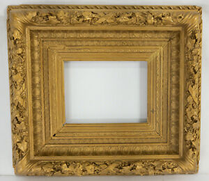 Antique Gold Painted Gilt Hudson River School French Picture Painting Frame