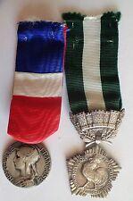 DECORATION lot 2 Medaille Travail et Collectivites Locales (A420)