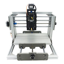 3 Axis Mini CNC Milling Machine Engraving DIY Router Kit + 500mw Laser Engraver