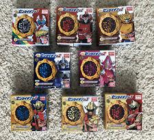 Zenkaiger Candy Sentai Gears Set of 8 Complete Team Zenkaiser Twokaiser