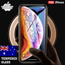 iPhone XR XS Max X 8 7 6 Plus Tempered Glass Screen Protector Film Guard Apple