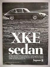 Jaguar Sedan PRINT AD - 1969 ~~ 2Plus2 ~ 2+2