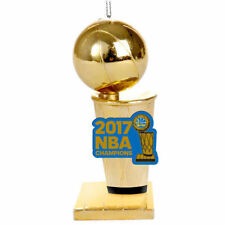 GOLDEN STATE WARRIORS 2017 NBA CHAMPIONS TROPHY ORNAMENT  NEW