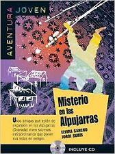 Misterio en las Alpujarras. Serie Aventura joven. Libro + CD