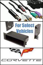 90-96 CHEVY CORVETTE CAR STEREO RADIO INSTALL DASH TRIM KIT + BOSE WIRE HARNESS