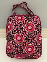 Vera Bradley Raspberry Medallion Iconic Lunch Bunch Insulated Bag Tote with Tag