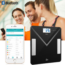 Smart Digital Bathroom Scale Body Fat Weight Scale Bluetooth BMI Mobile Fitbit