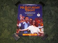 Original Video Store Promo Movie Poster ~ Mr. Saturday Night ~ Billy Crystal