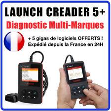 Valise Diagnostic LAUNCH CREADER 5+ V+ en Français - AUTO Valise DIAG COM OBD2
