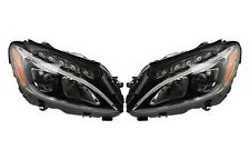 Left & Right Magneti Marelli Static LED Headlights Headlamps Pair Set For W204