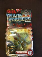 TRANSFORMERS REVENGE OF FALLEN BREAKAWAY AUTOBOT FIGHTER JET TF IMISCIMOSC/MIB