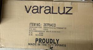 Varaluz 287P04CO Sawyers Bar Pendant Two-Tone Copper Ore 4 light pendant