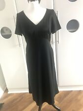 Marks and Spencers two tone Black dress size 14