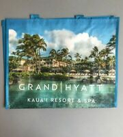 GRAND HYATT KAUAI Eco Tote Grocery Travel Vacation Errands NEW