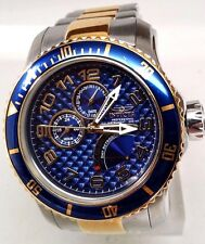 Invicta Men's 17356 Angel Analog Display Japanese Two Tone Watch Rusty Spots!!