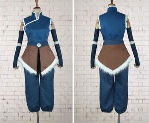 Korra cosplay costume from The Legend of Korra Avatar season Free Shipping{JJ}