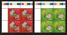 Viet Nam 2020-1 China New Year of the Rat 2V Block Stamp Animal Zodiac 鼠年