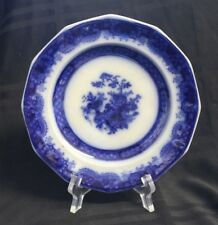Indian Jar Pattern Jacob and Thomas Furnival & Co Flow Blue Bread & Butter Plate