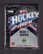 1990-1991 UD Upper Deck High Number Series NHL Hockey Set