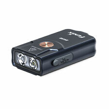 Fenix E03R 260 Lumen Rechargeable Keychain Flashlight with Red LED