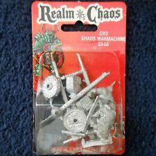 1987 caos enano Ablandador 0205 CH3 Citadel Warhammer hordas MIB de máquina de guerra