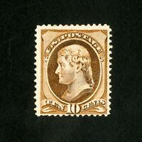 US Stamps # 209 F-VF Fresh OG LH Scott Value $160.00