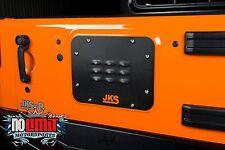 Jeep Wrangler JK Tailgate Vent Plate 2007-2015 2dr/4dr JKS Manufacturing #8200