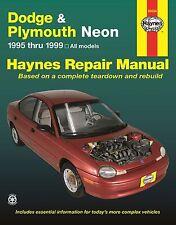 Dodge & Plymouth Neon 1995 - 1999 Haynes Repair Manual