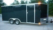 8.5x18 Enclosed Trailer Cargo ATV Motorcycle Utility 20 Box Trailers V Nose New