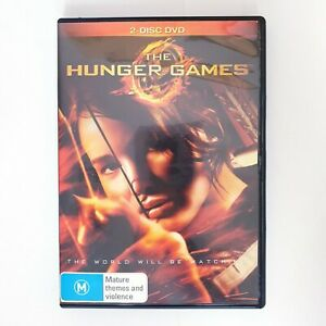 The Hunger Games Movie DVD Movies Free Postage Region 4 AUS Action