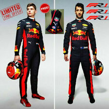 F1 Racing MAX 2019 Style RedBull Printed Suit Go Kart/Karting Race/Racing Suit