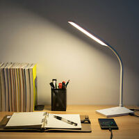 72 LED Desk Lamp 12W Flexible Table Lamp 5 Mode Reading Light Usb Charging Port