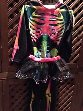 Fancy dress skeleton outfit age 3-4 yrs