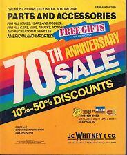Automotive Parts & Accessories Catalog No.104C J.C. Whitney 022817nonDBE2