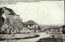 1916 Feldpostkarte Feldpost Stempel Leintrey Granatfeuer zerstört Schule Kirche