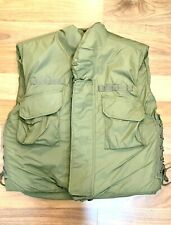 More details for vietnam flak jacket - real breast &back plates - airsoft/bb