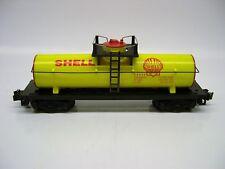 Reproduction American Flyer Yellow Shell Tank Car w/ Platform [Lot 9-F81]
