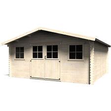 Casetta Belinda in legno quadrata 478x478 cm capanno attrezzi per giardino