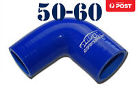 4 Ply Silicone 90 Degree Reducer Elbow Joiner Hose Pipe 50mm - 60mm