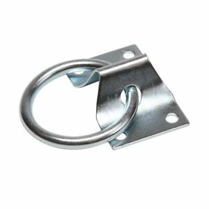Durable Tie Down Point Heavy Duty Lashing Ring Staple Cleat Load Securing D Ring