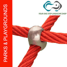 1 X Playground Rope Cross X  Connector - Aluminium