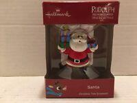 2018 Hallmark Keepsake Ornaments Rudolph the Red Nosed Reindeer Santa in Box