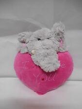 cuore PELUCHE elefante 22 cm  idea regalo SAN VALENTINO  amore i love you