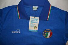 DIADORA ITALY HOME SHIRT 1986 FOOTBALL JERSEY DEADSTOCK VINTAGE SIZE M NEW