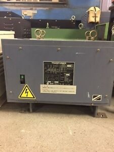 BRONE ELECTRIC TYPE-370 TRANSFORMER 13 kVA (Ref #7)