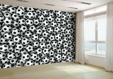 3D Soccer Balls Wallpaper Mural Photo 44444993 budget paper