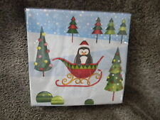 Lot of 72 Special Occasion Snowville Beverage Napkins